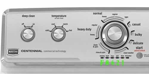 Maytag Centennial Washer Diagnostic Guide on