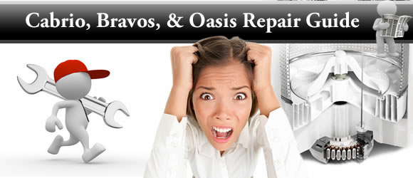 Whirlpool Cabrio, Maytag Bravos, and Kenmore Oasis Washing Machine Troubleshooting and Repair Guide
