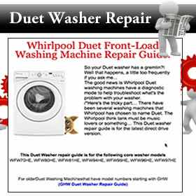 Duet Washer Repair Guide