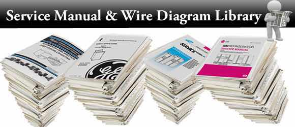 Appliance Service Manuals, Repair Manuals, &Appliance Wire Diagrams.