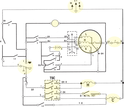 Washer Wiring Diagram - wiring diagrams schematics