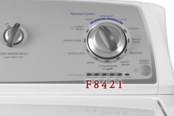 Whirlpool Top Load Washer Diagnostics