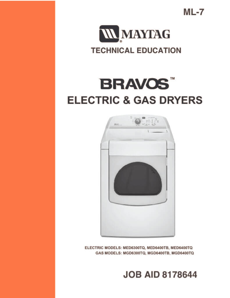 maytag bravos dryer service manual download applianceassistant com rh applianceassistant com Maytag Dryer Belt Replacement Maytag Dryer Disassembly
