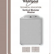 whirlpool top load washer service manual download